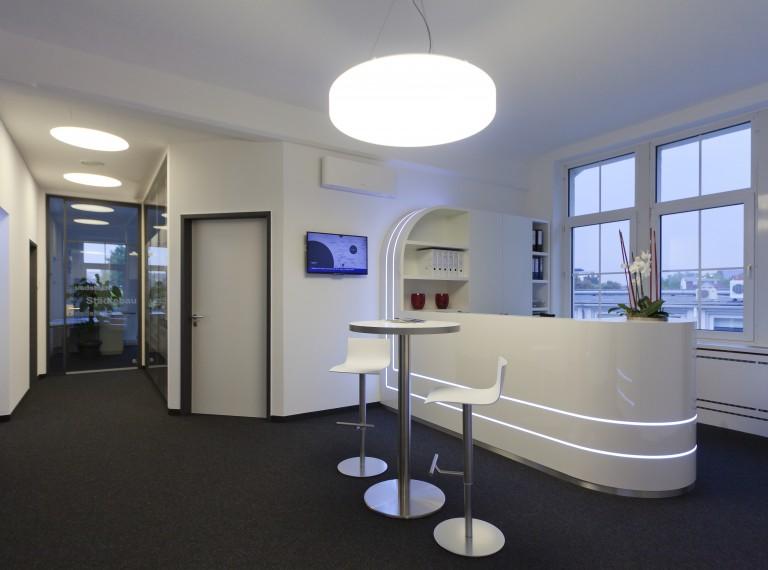 Businesskonzepte glaescher design innenausbau for Raumgestaltung und design
