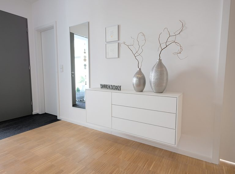 Flur Und Garderobe Glaescher Design Innenausbau