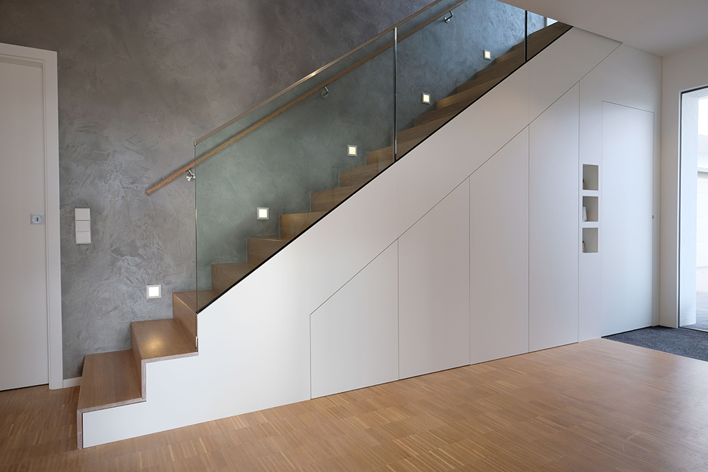 TREPPENSCHRANK - Glaescher Design & Innenausbau  Raumplanung und Raumgestaltung in Delbrück
