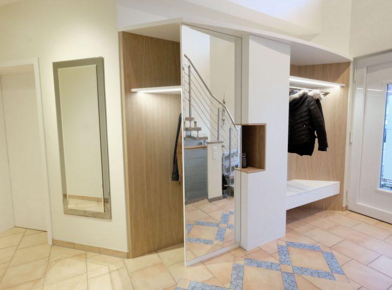 garderobe glaescher design innenausbau raumplanung und raumgestaltung in delbr ck. Black Bedroom Furniture Sets. Home Design Ideas